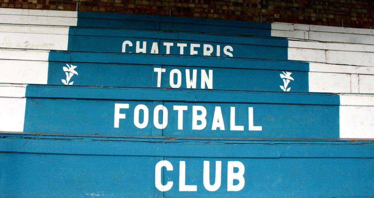 MFCP Chatteris FC stand. (2922909)