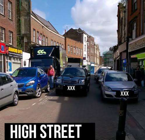 Bad parking captured on camera by police in Wisbech