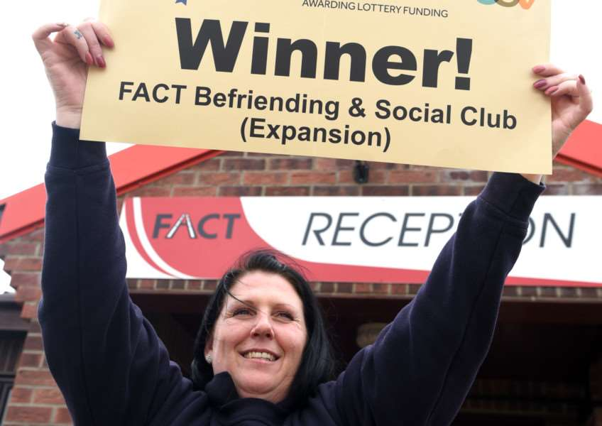 FACT (Fenland Area Community Transport), 5 Martin Avenue, March. Charity has won ITV's The People's Project 'Kat Gillen at the front ANL-160321-140423009
