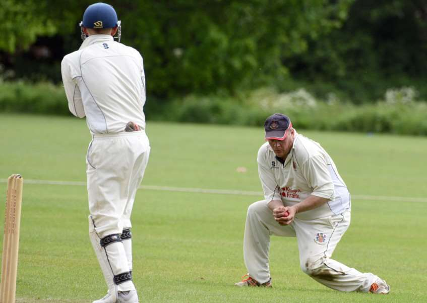 Wisbech 1st cricket v Ketton CC 'Simon Freear catch