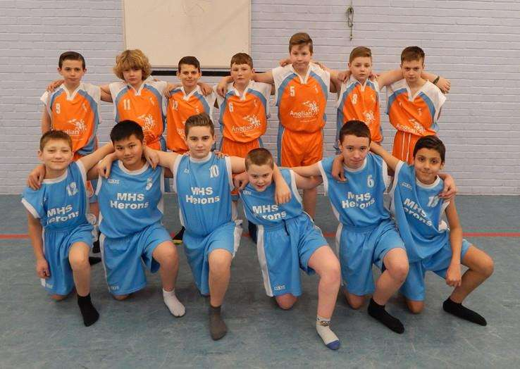 Marshland High School Under 12s Basketball