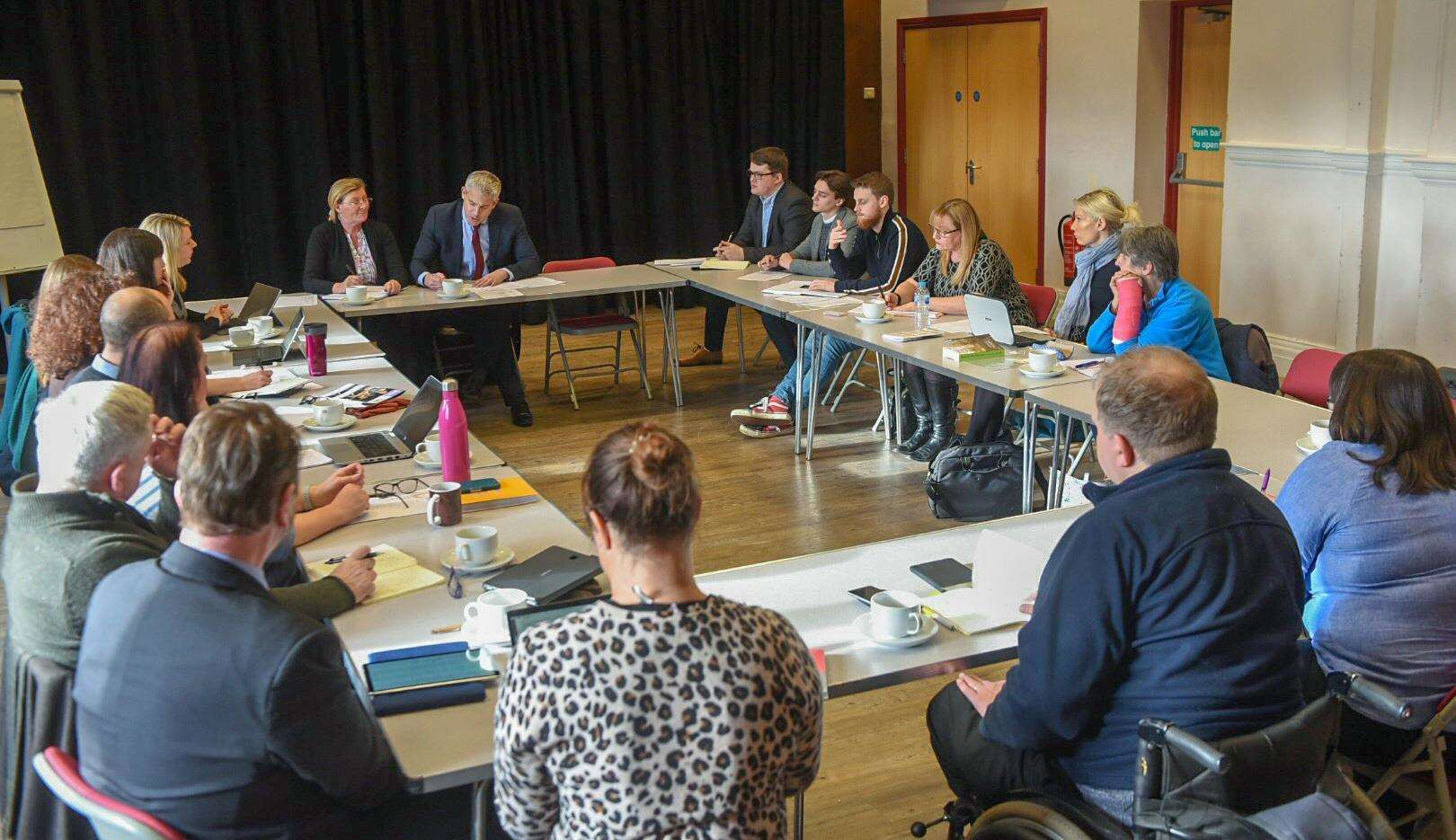 Steve Barclay MP hosted an arts funding meeting. (7016287)