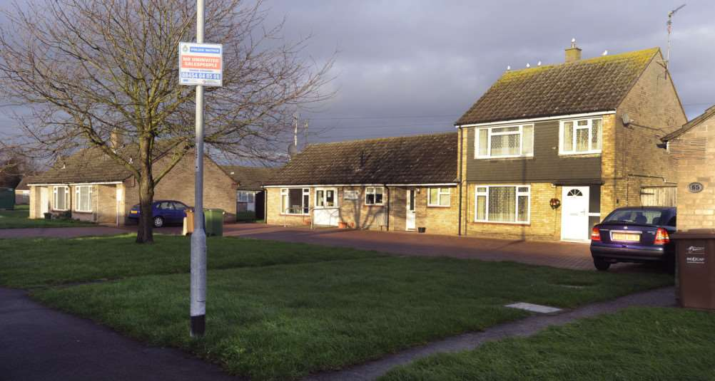 A general view of the Morton Avenue sheltered housing scheme