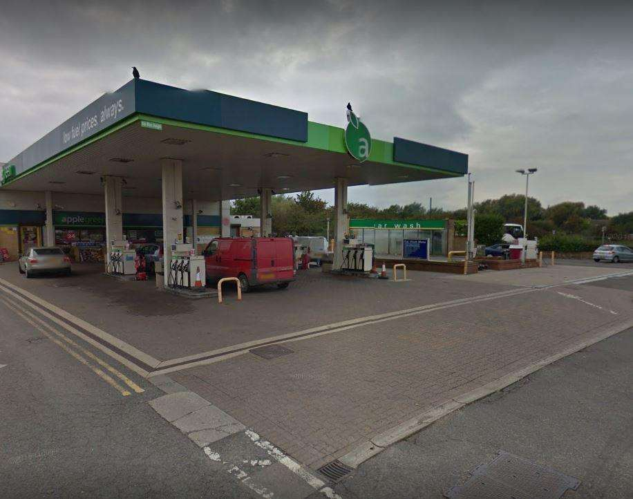 Applegreen in Chatteris was targeted by armed robbers. (6793735)