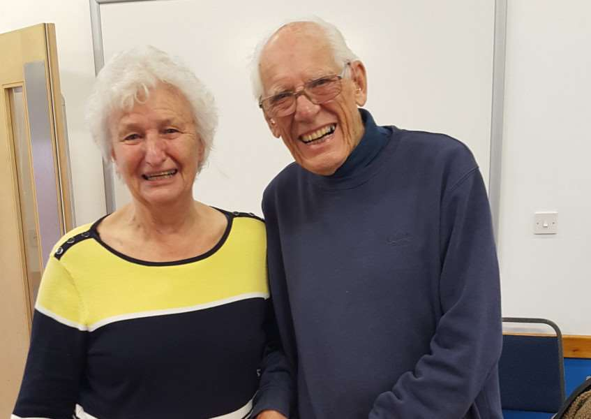 Shirley and John Wilcox, she is now an advocate for the Stroke Association's 'Lost for Words' campaign.