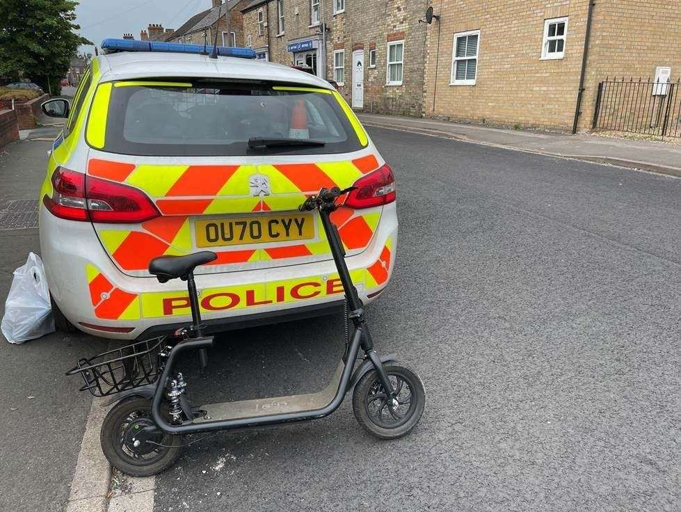 Police have had a crackdown of e-scooters in Wisbech. (48165878)