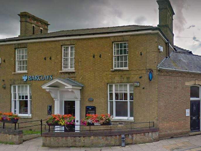 Barclays bank in Chatteris is closing in May and traders fear it will impact on their businesses. (7299791)