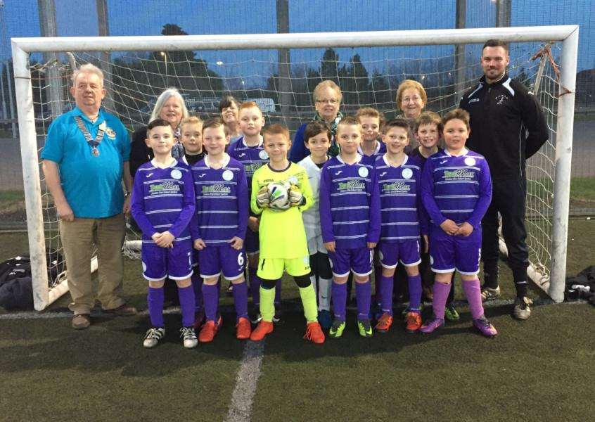 Wisbech st Mary Purples under 9