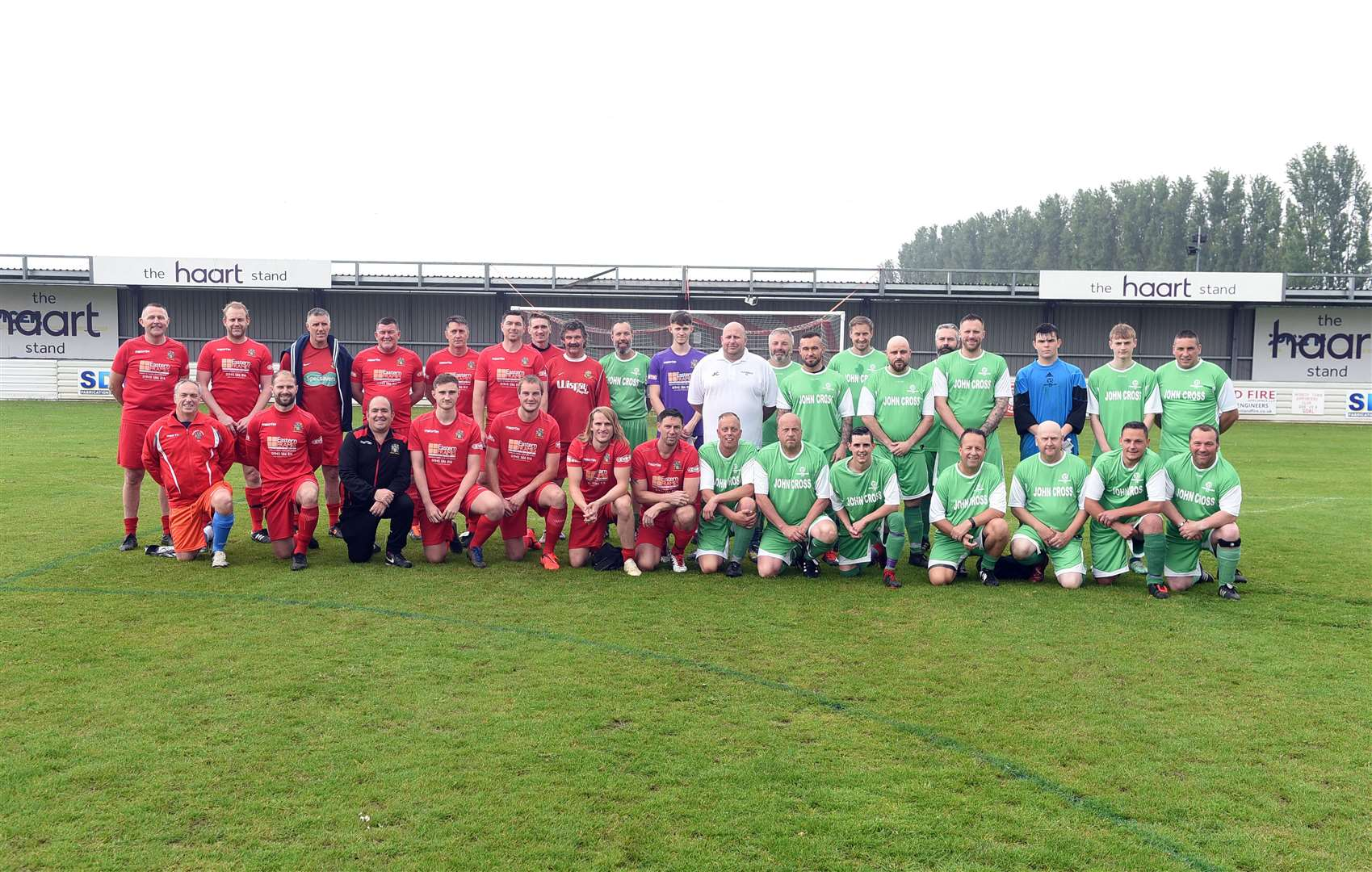 Wisbech Town Legends v Ovendale FC in memory of..Mark Ovendale ex Wisbech Town player and Luton Town FC. (10669444)