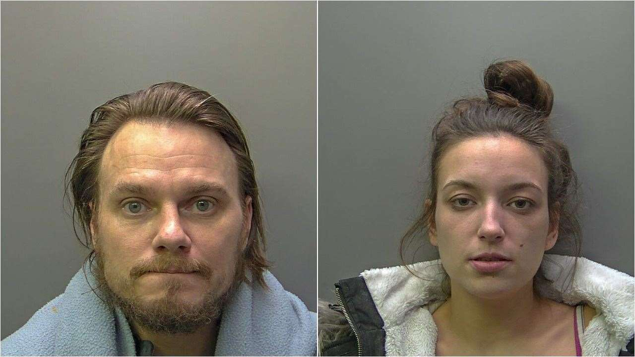 Stephen Colloton and Danielle Brown went on a 12-hour crime spree across the Wisbech area. (15014488)