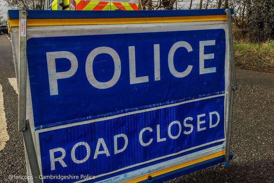 Road closure in Wisbech affecting Norwich Road, Staithe Road and Stow Road. (2467803)