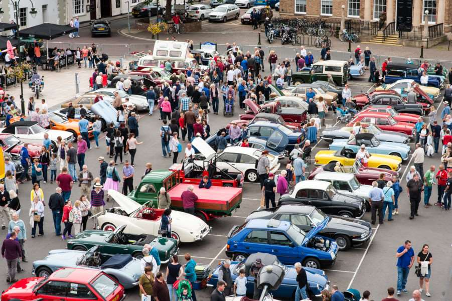 Heritage Open Weekend, Classic Car Show and Beer, Butchers and Barbers weekend in King's Lynn ANL-150913-233726009
