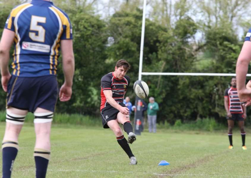 Jaco Steenberg in action for Oundle last season.