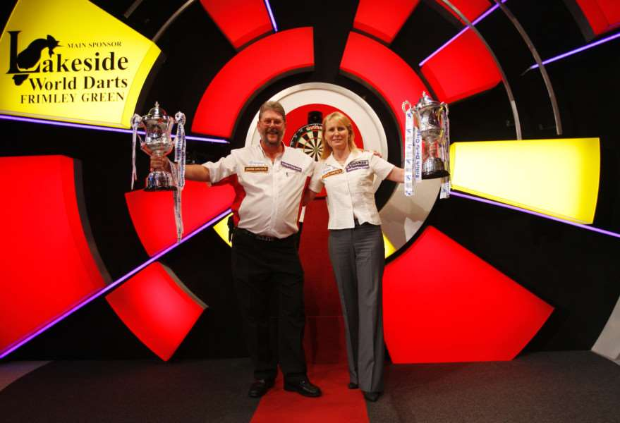 World Champions and England captains Martin Adams and Trina Gulliver are among the top players heading to Coventry to compete in a unique darts 'double' of major events at the Ricoh Arena this July.'Three-times Lakeside World Champion and Winmau World Masters Champion Martin 'Wolfie' Adams and nine-times Lakeside Women's World Champion Trina Gulliver are just two of the star names taking part in the BDO British Classic and EDO England Masters in a mouth-watering weekend of big-time darts from Friday, July 13 to Sunday, July 15 in the Mercia Live Level and IBEX Hall 3.'Adams will be competing alongside another former World Champion John 'Boy' Walton and BBC TV favourites including Tony O'Shea, Darryl Fitton and Scott Waites. 'Gulliver ' who comes from Southam and is captain of Warwickshire County women's darts ' will be returning to her home county.'Barry Gilbey, chairman of the British Darts Organisation, said: 'The BDO and EDO are joining forces for the very first time in Coventry. And for the general public