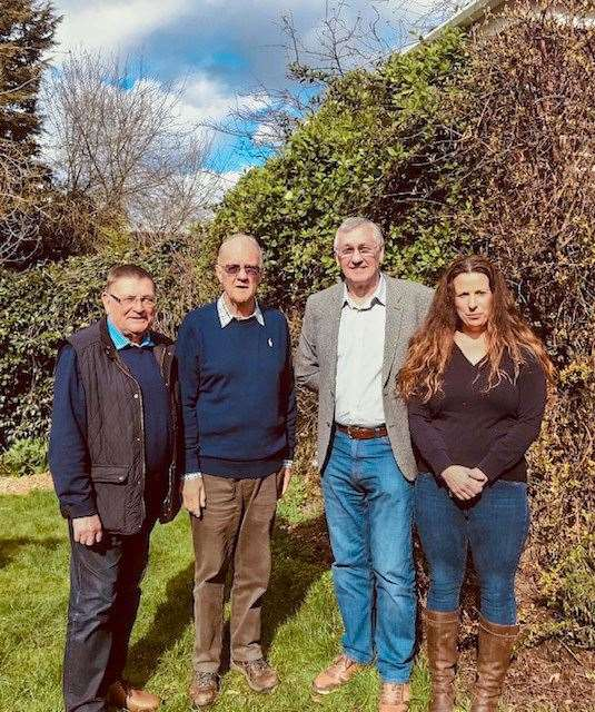 Mike Cornwell, Fred Yeulett, Will Sutton and Michelle Tanfield have set up their own independents group to fight the forthcoming local elections. (7665084)