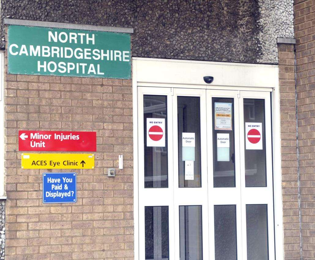 The pilot scheme has been launched at the North Cambs Hospital in Wisbech. (3903883)