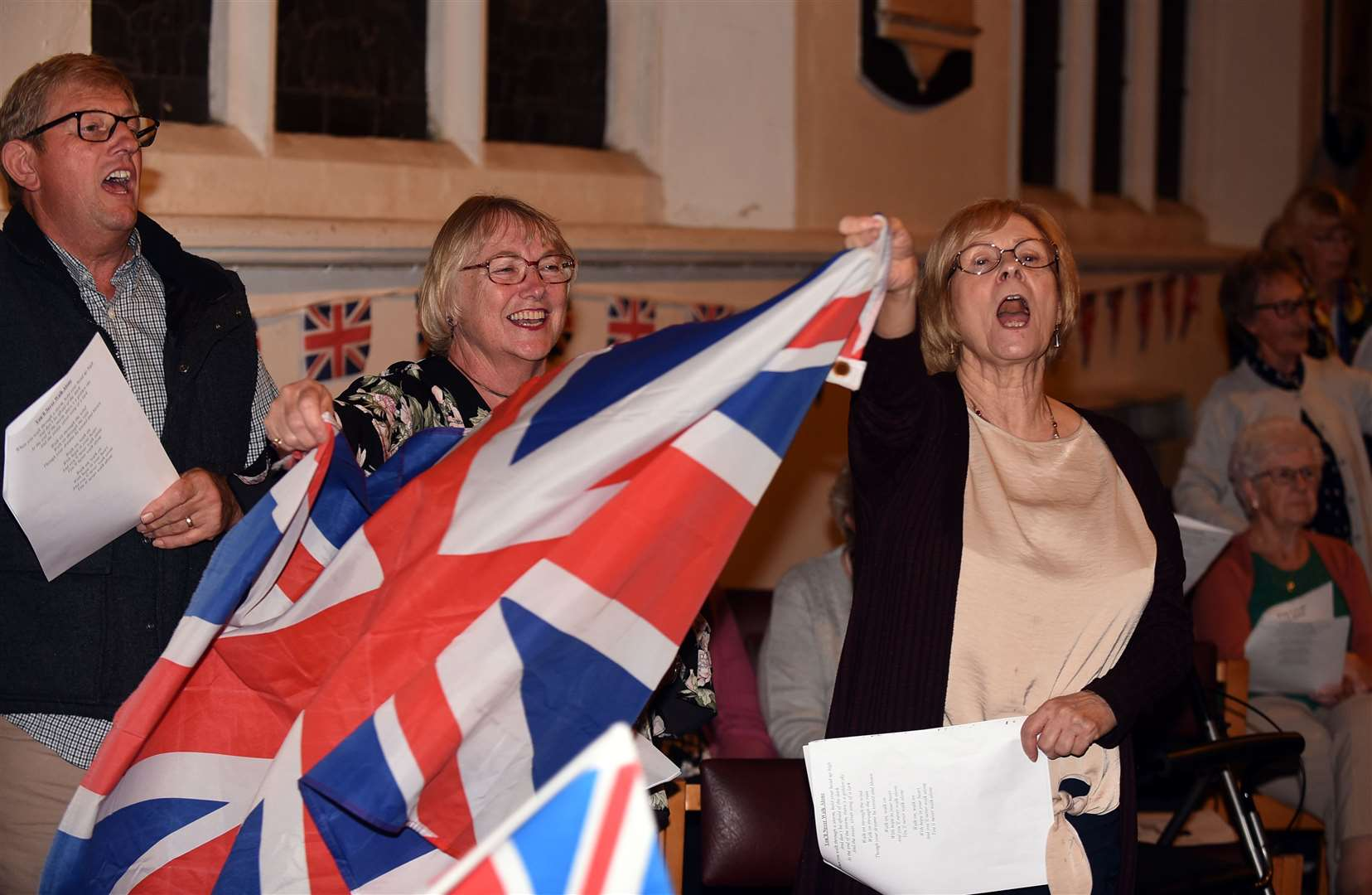Last night of the proms at St Peter's church Wisbech. (16293622)