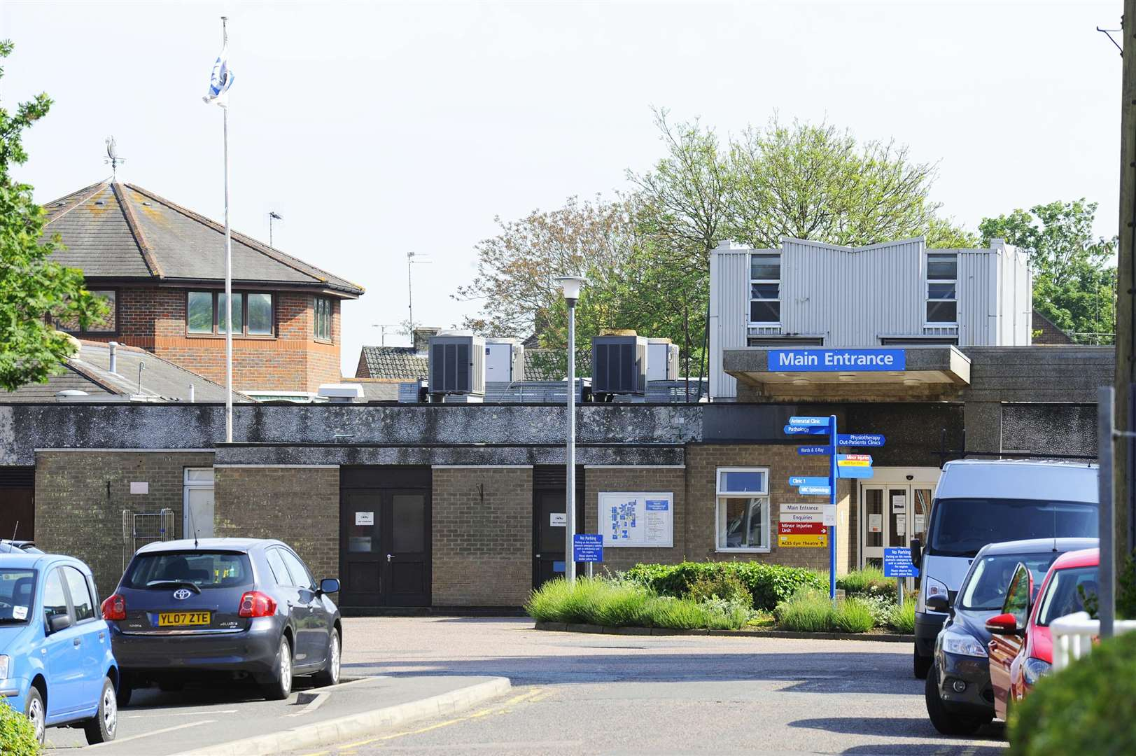 The pilot scheme has been launched at the North Cambs Hospital in Wisbech.