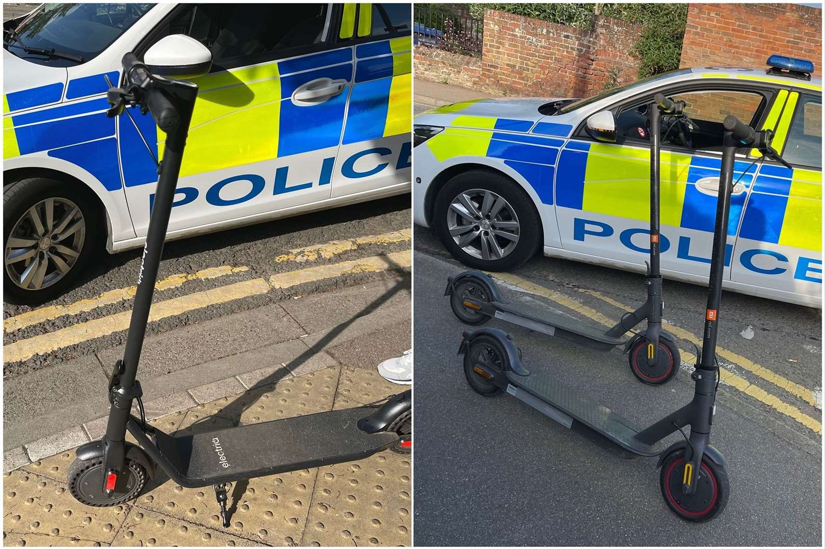 Police have had a crackdown of e-scooters in Wisbech. (48165866)