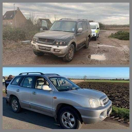 Police gave a tongue in cheek countdown of the top cars seized from hare coursers this season. (31708064)