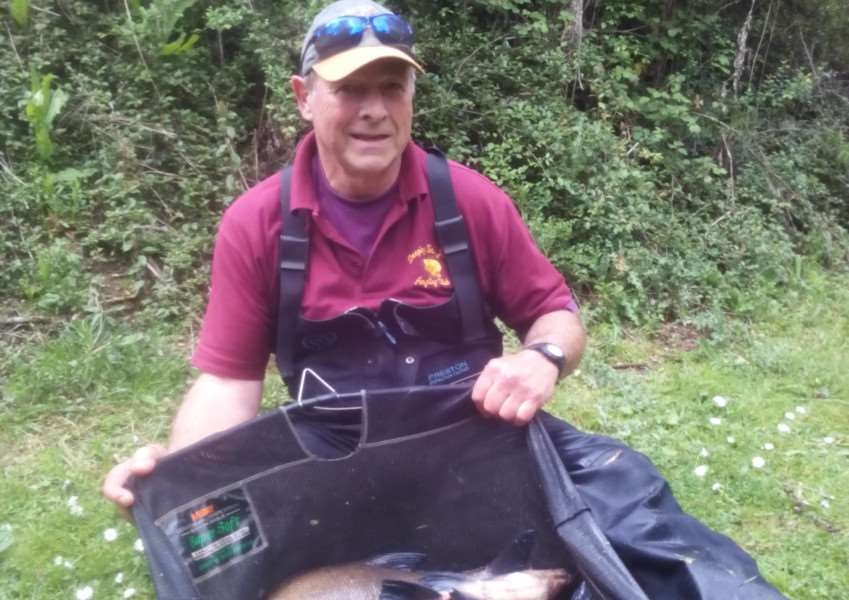 Deeping St James AC angler Brian Johnson.