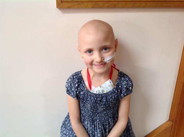 Emily Rush, aged 8 of Emneth, who sadly lost her battle to a rare form of cancer