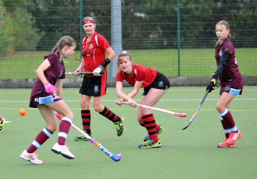 Ladies Hockey Spalding seconds v Wisbech seconds, Surfleet (4687220)