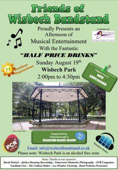 Wisbech bandstand will be alive with the sound of music later this summer thanks to a group of volunteers. (3286596)