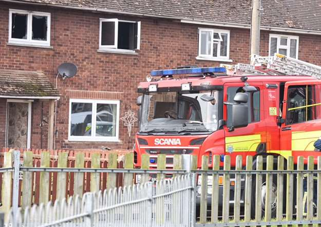 Fire in Wisbech ANL-161203-143111001