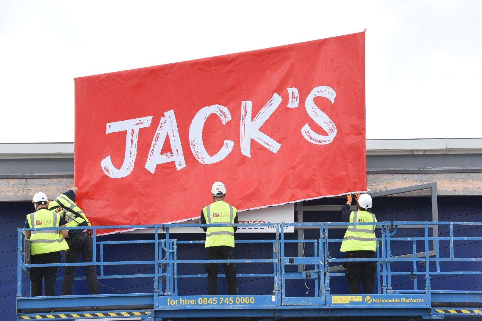 Tesco to launch discount store format called Jack's
