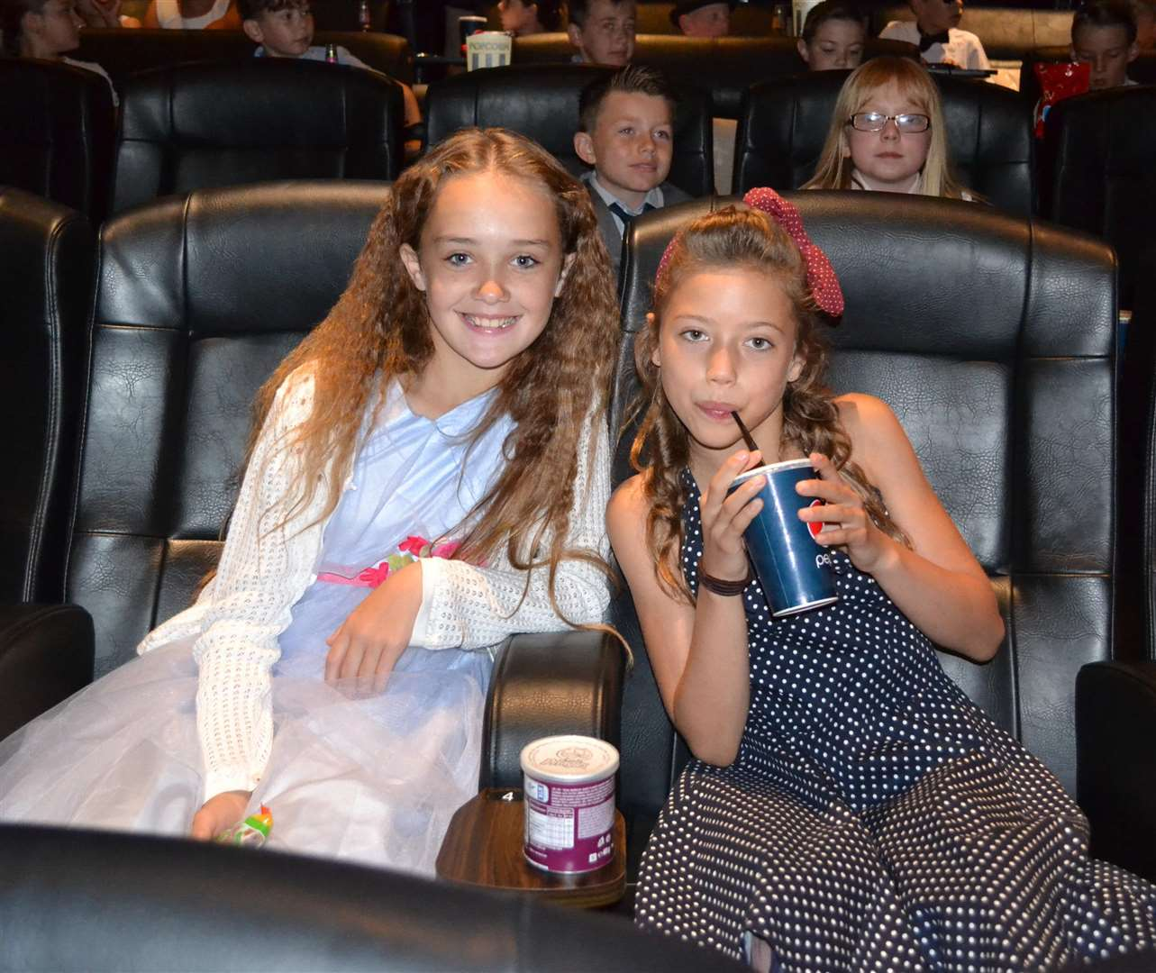 Children from Tydd St Mary school worked with Big Sky Arts to create a short film, which they then watched at a 'red carpet' premiere at the Luxe Cinema in Wisbech. (3297393)