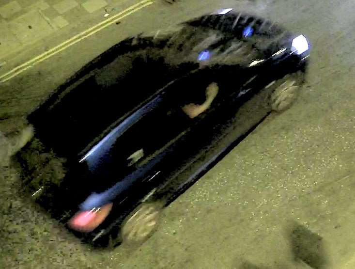 Police have released shocking CCTV of this hit and run