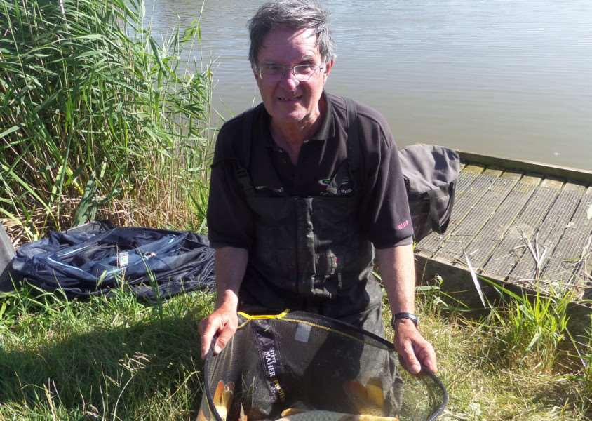 Mac Campbell, Fenland Rods winner at Rookery Waters