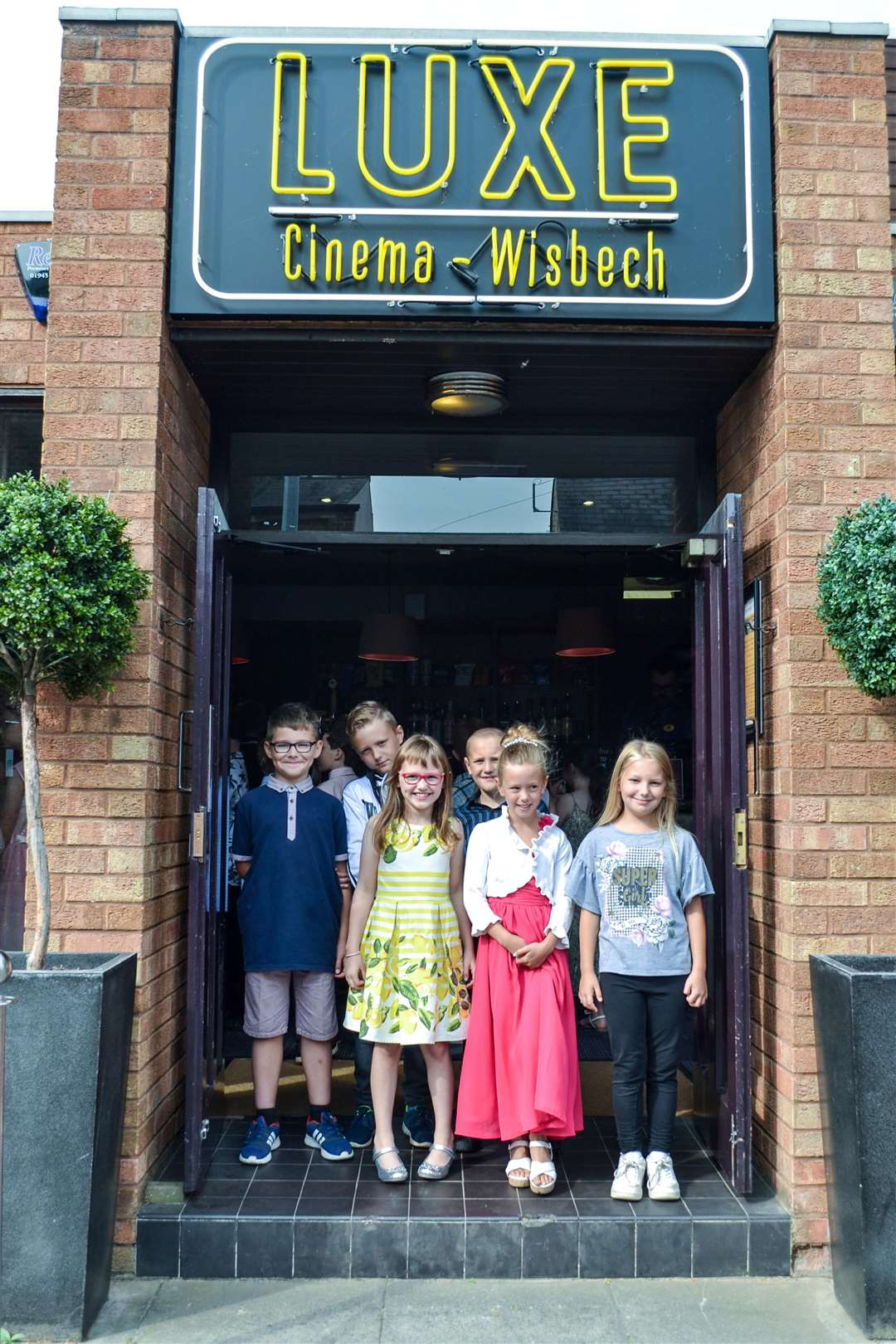 Children from Tydd St Mary school worked with Big Sky Arts to create a short film, which they then watched at a 'red carpet' premiere at the Luxe Cinema in Wisbech. (3297391)