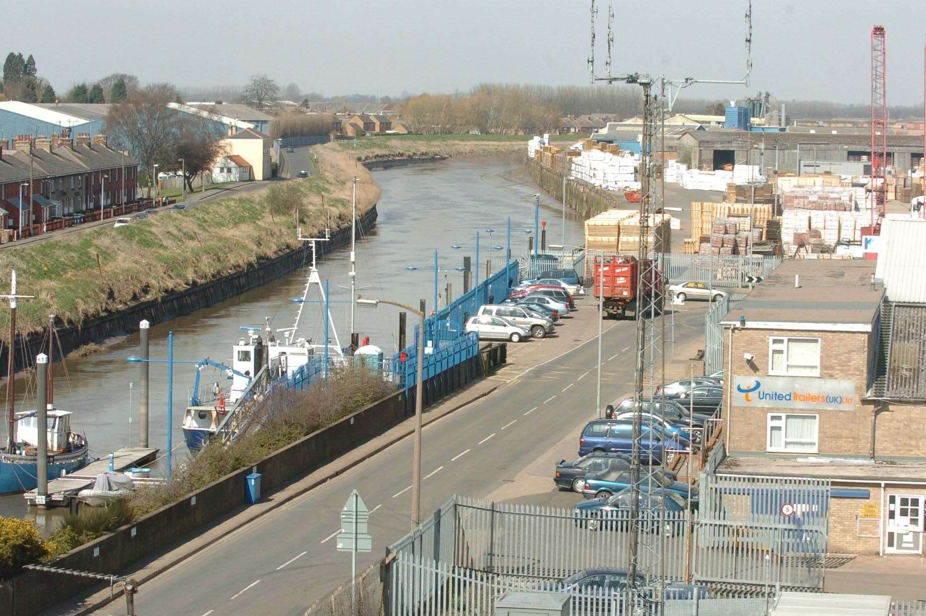 general view of Wisbech ..contact Annalise Lister 01353 727780 or 07796 358144. (19870804)