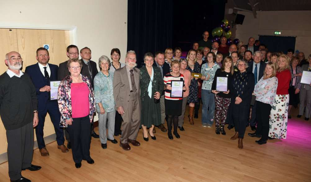 Pride in Fenland Awards night at Wisbech St Mary 'Group, Club or Organisation Category