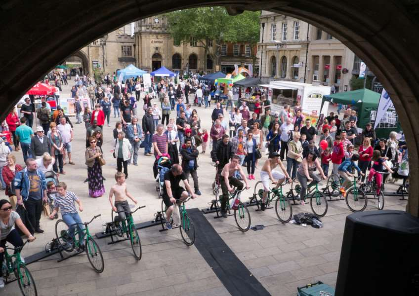 The Green Festival gets under way on Saturday