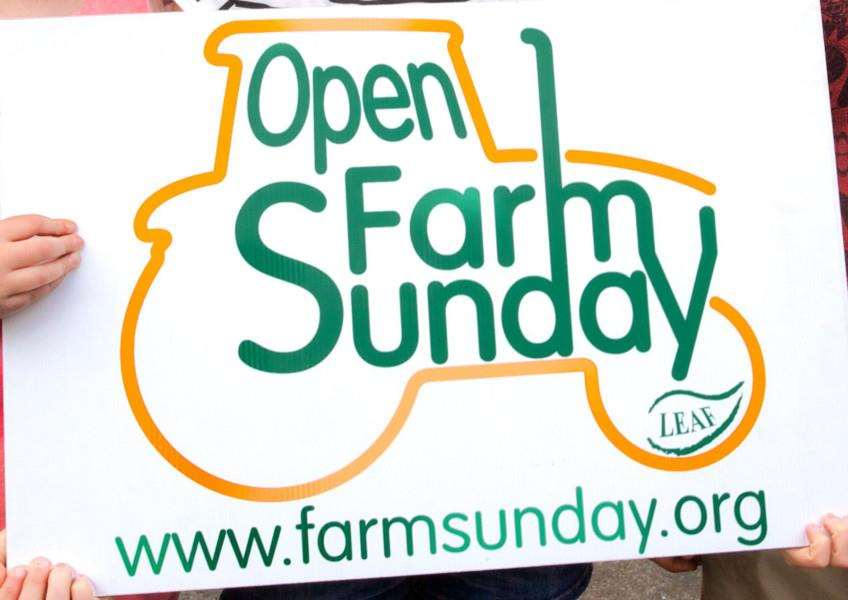 Everyone is welcome to open farm event.