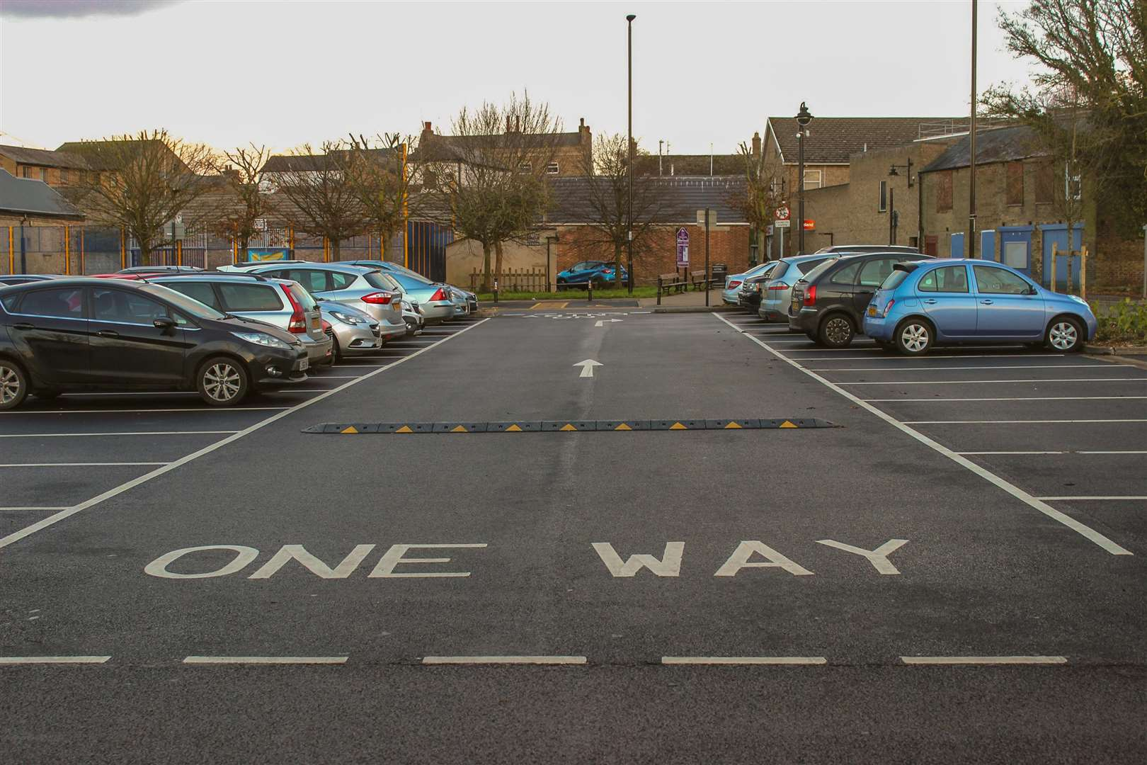 Renovation complete at busy March car park. (6917814)
