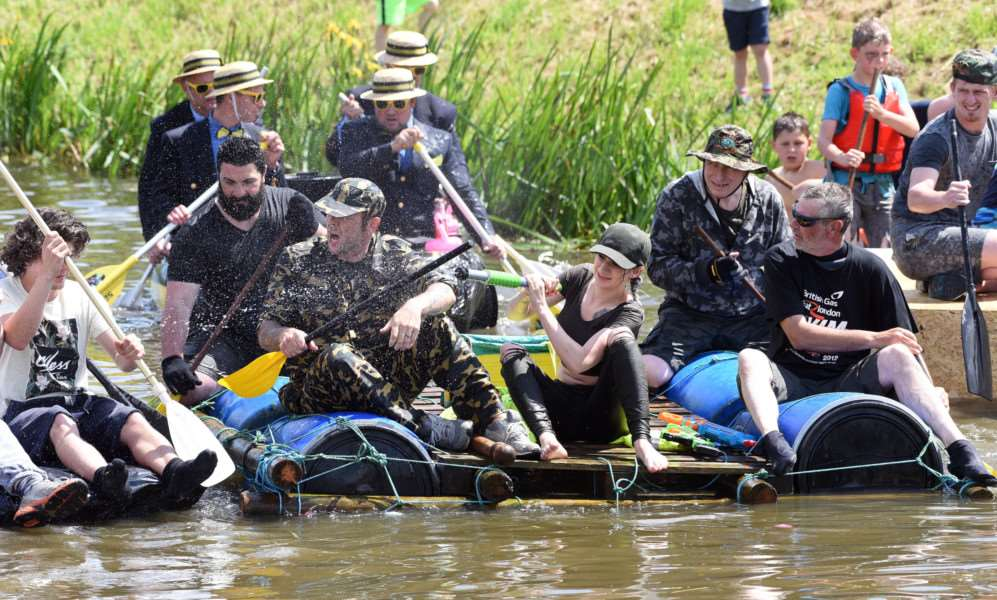Outwell Raft race