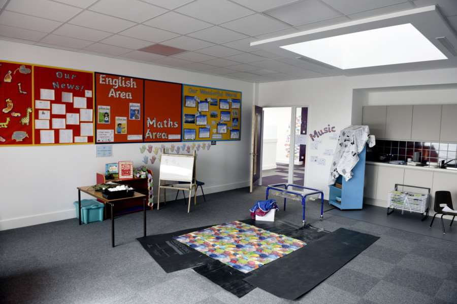 New class rooms at Ramnoth School Wisbech
