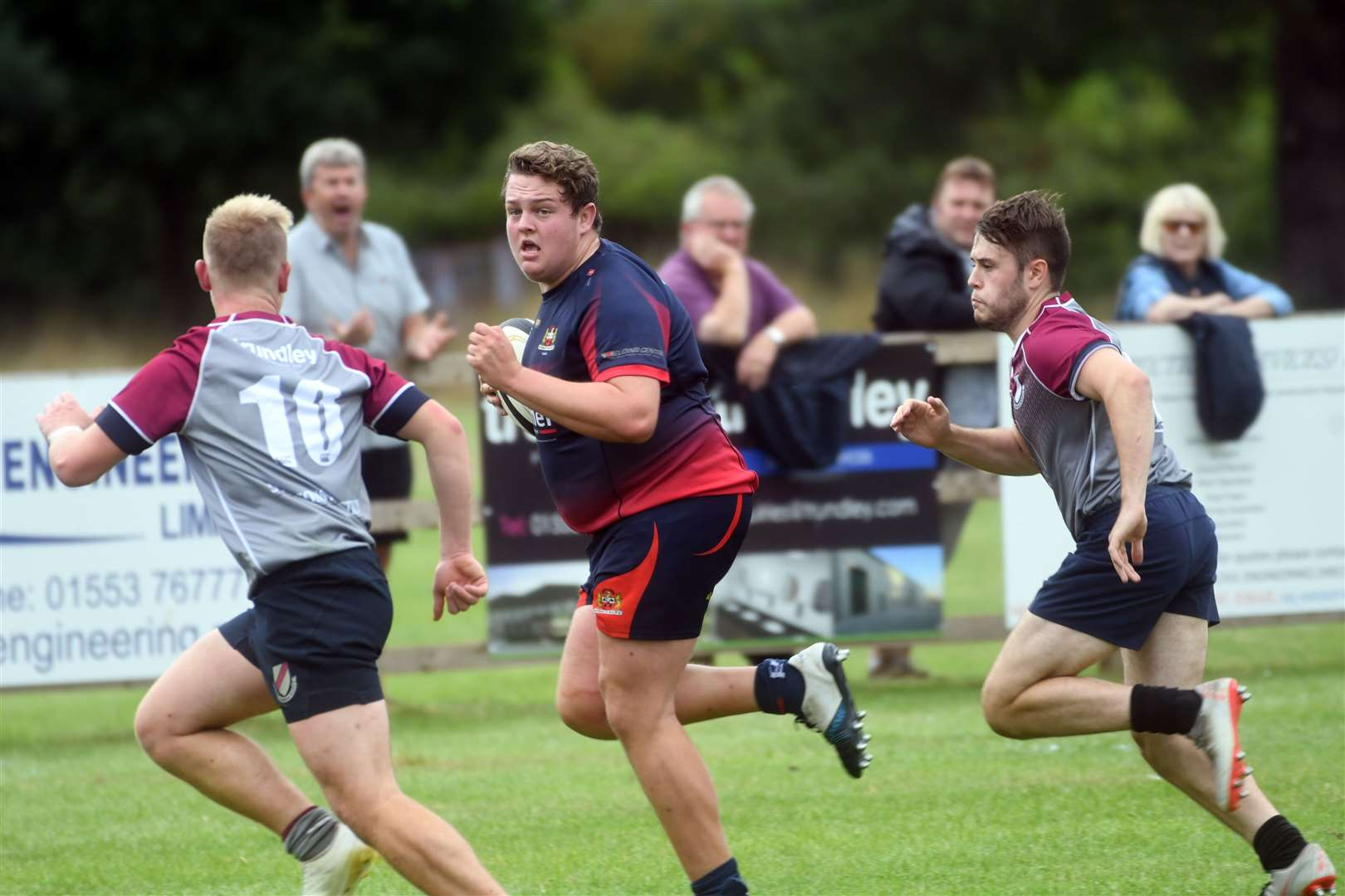 West Norfolk v Wisbech rugby friendly. (15991152)