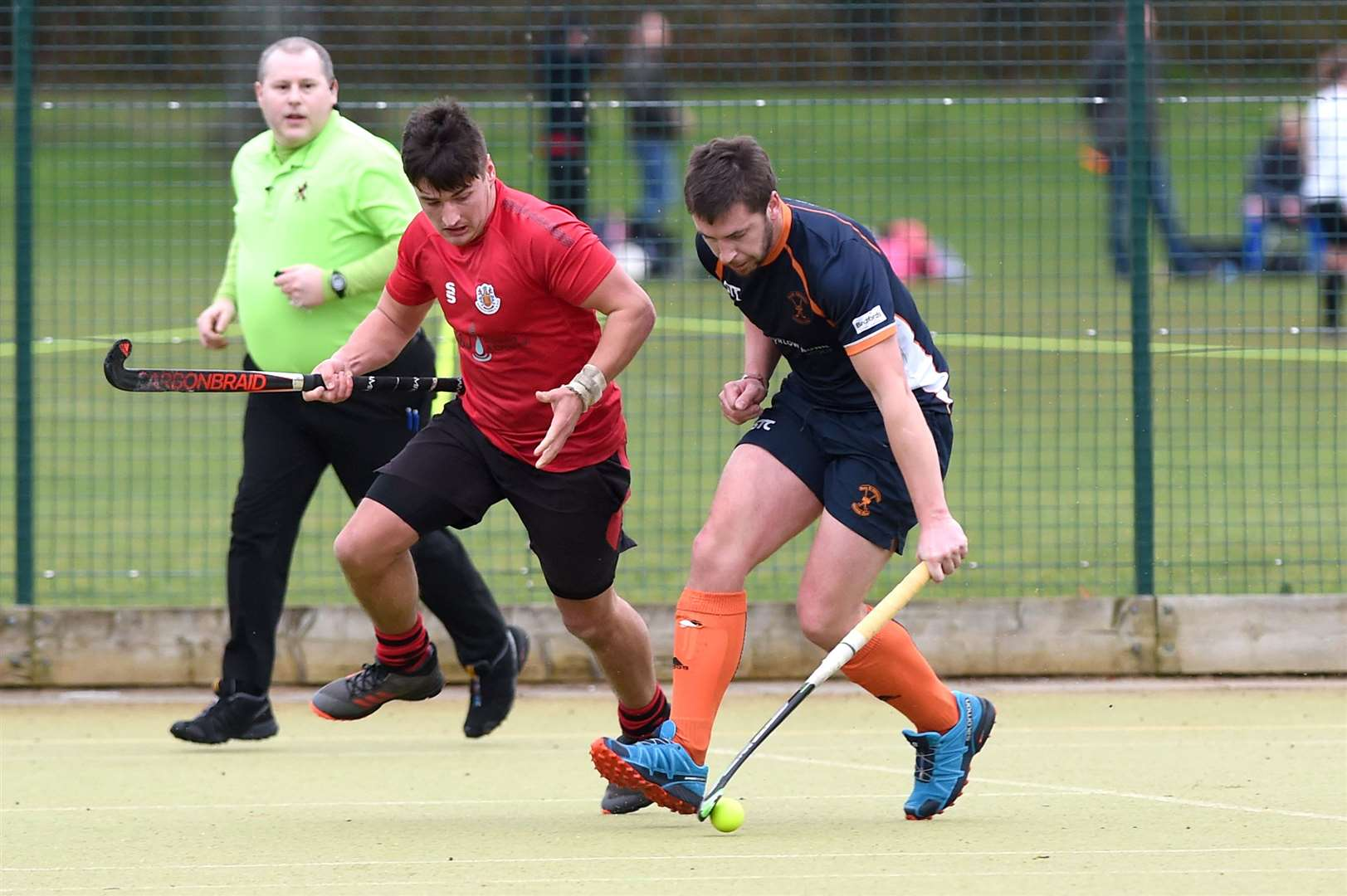 HOCKEY - Bury Men v Wisbech Town in recent action. PICTURE: Mecha Morton