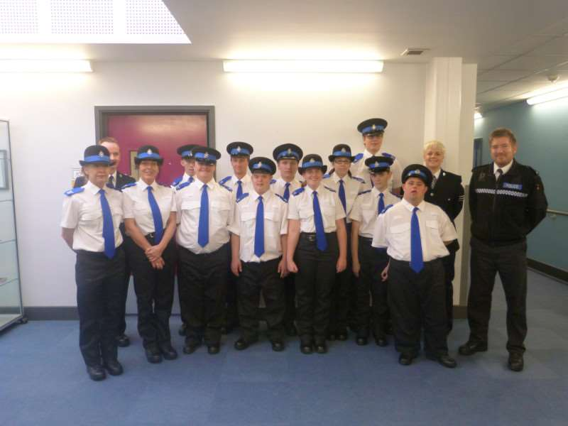 Meadowgate school police cadets