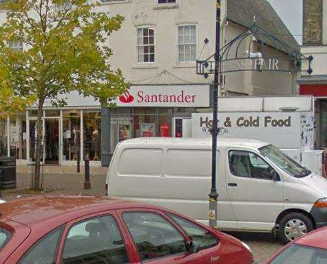 Wisbech branch of Santander is set to close in May. (6742790)