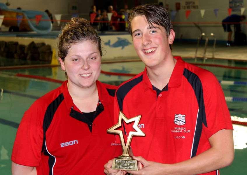 Wisbech's Anglian League swim final win
