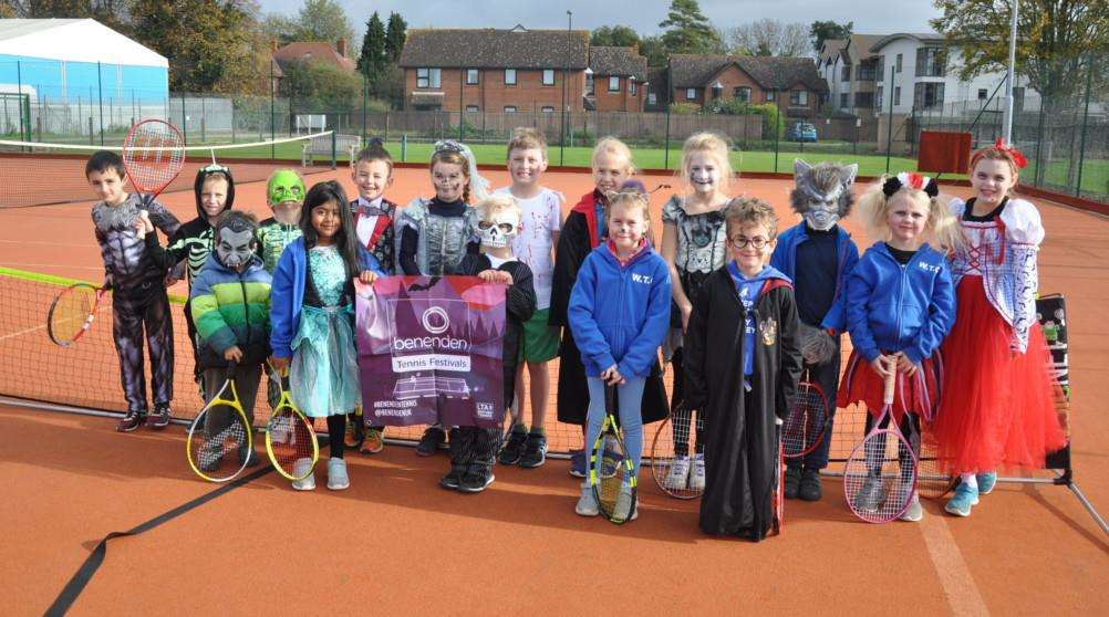 6-8 year olds fancy dress tournament