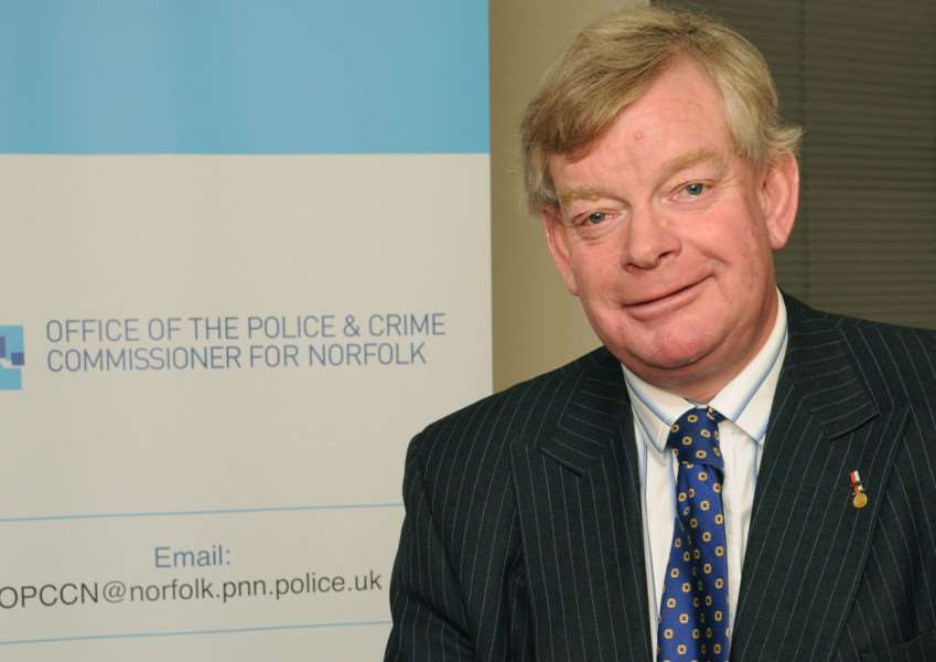 Stephen Bett Norfolk's new Police and Crime Commissioner ENGANL00120121122145829