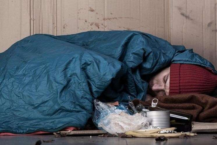 Snapshot shows number of people sleeping rough has fallen.