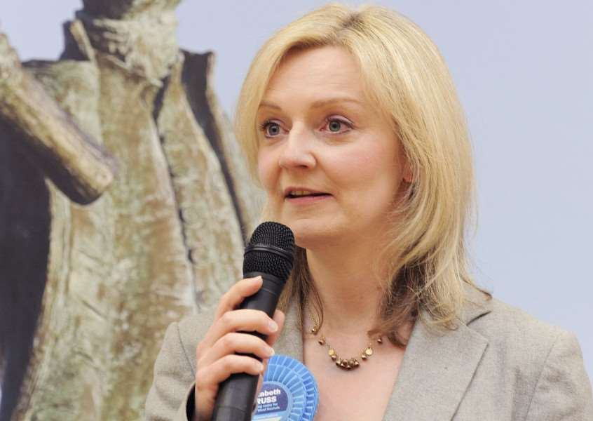 Election at Lynnsport King's Lynn'Elizabeth Truss ANL-150805-111651009